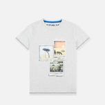 Детская футболка Napapijri K Spill Light Grey фото- 0