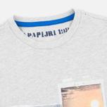Детская футболка Napapijri K Spill Light Grey фото- 1