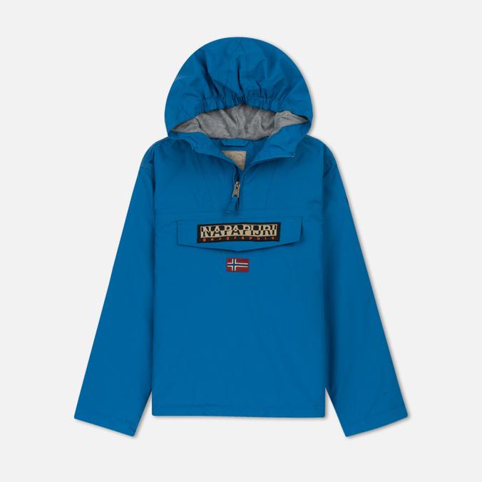 Детская куртка анорак Napapijri K Rainforest 1 Mountain Blue