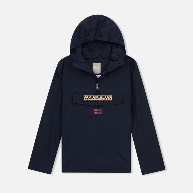 Детская куртка анорак Napapijri K Rainforest Summer Blue Marine