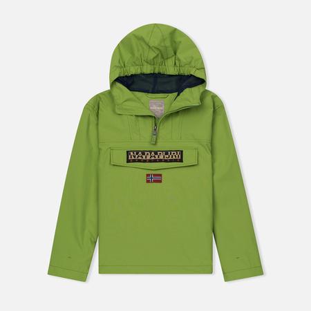 Детская куртка анорак Napapijri K Rainforest Summer Piquant Green