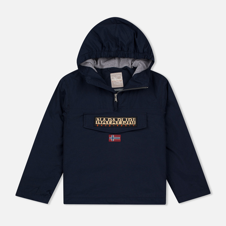 Napapijri K Rainforest Winter Children's Anorak Blue Marine