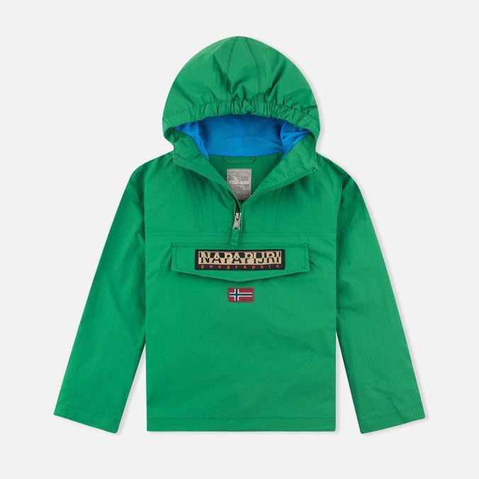 Детская куртка анорак Napapijri Rainforest Summer Stern