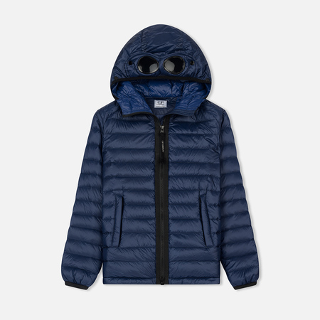 Детская куртка C.P. Company U16 Nylon Goggle Down Blueprint