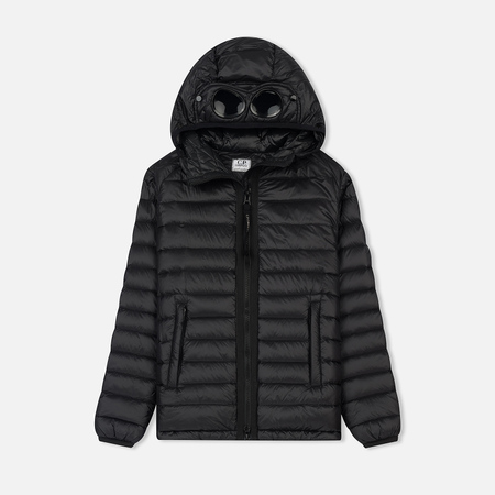 Детская куртка C.P. Company U16 Nylon Goggle Down Caviar Black