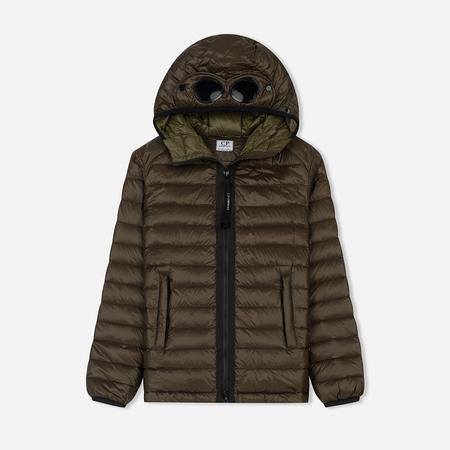 Детская куртка C.P. Company U16 Nylon Goggle Down Dark Olive