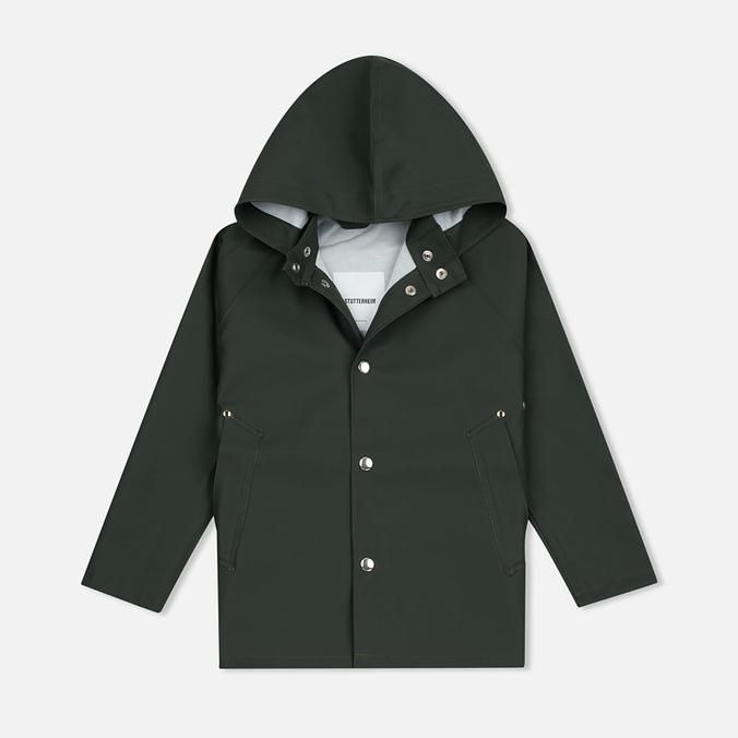 Детская куртка дождевик Stutterheim Stockholm Mini Green