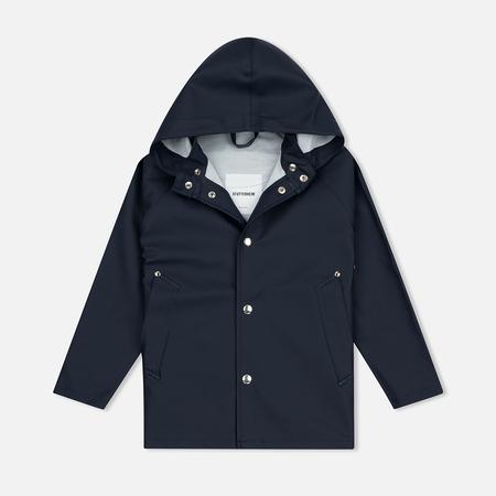 Детская куртка дождевик Stutterheim Stockholm Mini Navy