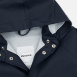 Детская куртка дождевик Stutterheim Stockholm Mini Navy фото- 2