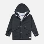Детская куртка дождевик Penfield Kingman Weatherproof Black фото- 0