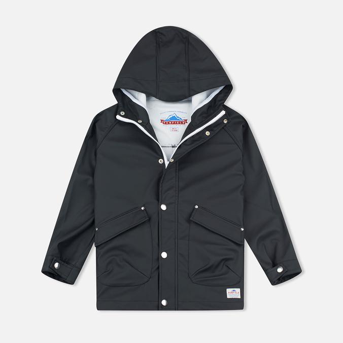 Детская куртка дождевик Penfield Kingman Weatherproof Black