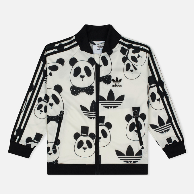 Детский костюм adidas Originals x Mini Rodini Superstar Tracksuit White/Black