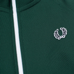 Fred Perry Laurel Wreath Tape Track Children's Track Jacket Ivy photo- 2