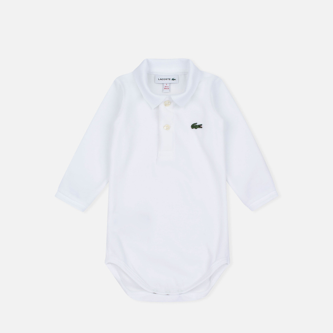 Детская пижама Lacoste Boys Body Suit White