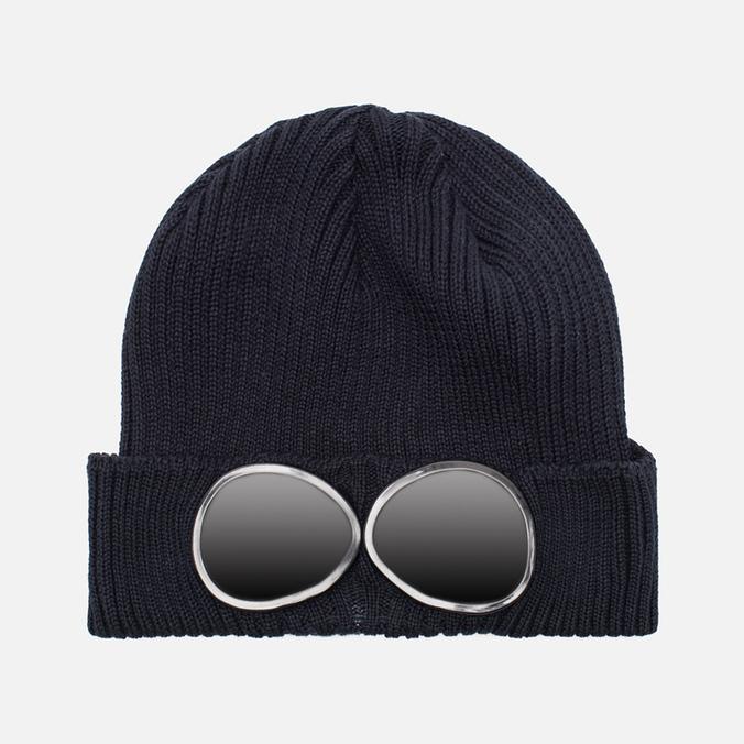 Детская шапка C.P. Company U16 Berretto Goggle Navy