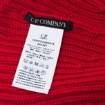Детская шапка C.P. Company U16 Iconic Goggle Red фото- 3