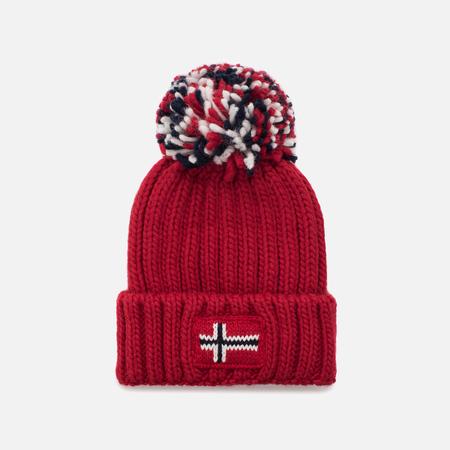 Детская шапка Napapijri K Semiury 1 Pumpon Sparkling Red
