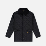 Детская стеганая куртка Barbour Liddesdale Quilted Black фото- 0