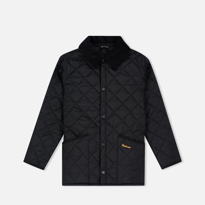Детская стеганая куртка Barbour Liddesdale Quilted Black