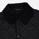 Barbour Liddesdale Childrens's Quilted Jacket Black photo- 2