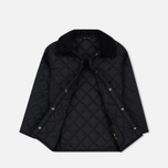 Barbour Liddesdale Childrens's Quilted Jacket Black photo- 1