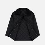 Детская стеганая куртка Barbour Liddesdale Quilted Black фото- 1