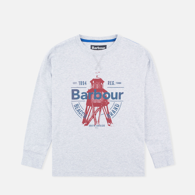Детская толстовка Barbour Light Crew Grey Marl