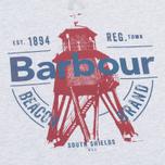 Детская толстовка Barbour Light Crew Grey Marl фото- 2