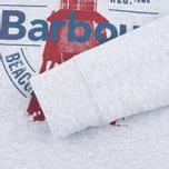 Детская толстовка Barbour Light Crew Grey Marl фото- 3
