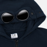 Детская толстовка C.P. Company U16 Cotton Fleece Hooded Zip Google Blue фото- 2