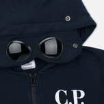 Детская толстовка C.P. Company U16 Cotton Fleece Hooded Zip Google Blue фото- 1