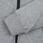 Детская толстовка C.P. Company U16 Cotton Fleece Hooded Zip Google Grey Melange фото- 3
