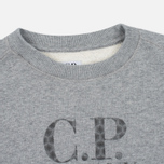 Детская толстовка C.P. Company U16 Cotton Fleece Lens Crew Neck Reflective Logo Grey Melange фото- 1