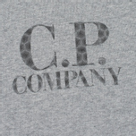Детская толстовка C.P. Company U16 Cotton Fleece Lens Crew Neck Reflective Logo Grey Melange фото- 3