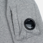 Детская толстовка C.P. Company U16 Cotton Fleece Lens Crew Neck Reflective Logo Grey Melange фото- 2