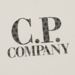 Детская толстовка C.P. Company U16 Cotton Fleece Lens Crew Neck Reflective Logo White фото- 4