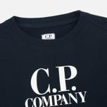 C.P. Company U16 Crew Neck Lens Children's Sweatshirt Blue photo- 1