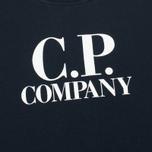 C.P. Company U16 Crew Neck Lens Children's Sweatshirt Blue photo- 2