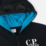 Детская толстовка C.P. Company U16 Felpa Aperta Goggles Dark Navy фото- 1