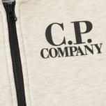 Детская толстовка C.P. Company U16 Felpa Aperta Goggles Melange Grey фото- 3
