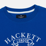 Детская толстовка Hackett Vintage Print Electric Blue фото- 1