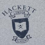 Детская толстовка Hackett Vintage Print Grey Marl фото- 2