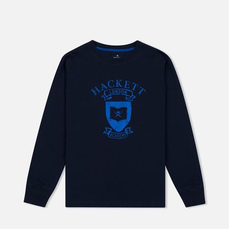Детская толстовка Hackett Vintage Print Navy