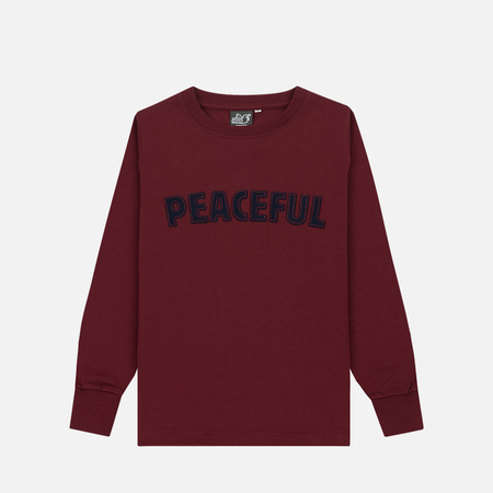 Детская толстовка Peaceful Hooligan Peaceful Claret
