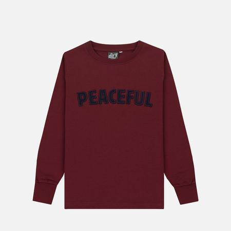 Детская толстовка Peaceful Hooligan Peaceful Claret