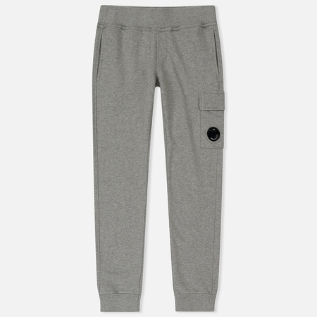 Детские брюки C.P. Company U16 Fleece Lens Jogging Grey Melange