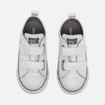 Детские кеды Converse Chuck Taylor All Star 2V Leather Toddler Low Top White фото- 4