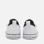 Детские кеды Converse Chuck Taylor All Star 2V Leather Toddler Low Top White фото- 5