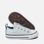 Детские кеды Converse Chuck Taylor All Star Simple Slip Low Top Fiberglass/Blue Coast/White фото- 1