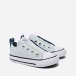 Детские кеды Converse Chuck Taylor All Star Simple Slip Low Top Fiberglass/Blue Coast/White фото- 2